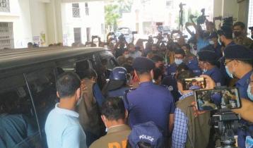 Cumilla Puja Mandap incident: 4 accused including Iqbal at court