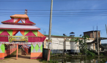 Mosque-temple in the same yard: A rare emblem of harmony