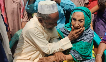 Centenarian mother becomes emotional as she gets back son after 70 yrs