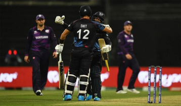 Namibia beat Scotland by four wickets