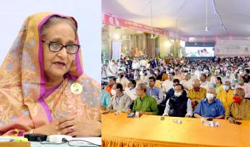 Bangladesh is a land of communal harmony: PM