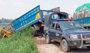Three killed in Tangail road crash