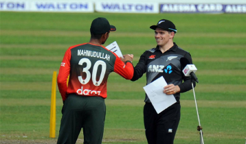 Bangladesh fielding with four changes