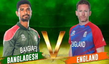 Bangladesh batting against England