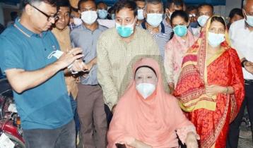 Khaleda Zia hospitalized
