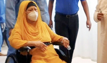 Khaleda Zia at hospital
