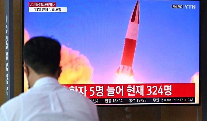 North Korea fires missile into sea